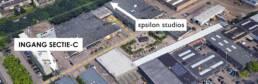 Routebeschrijving Epsilon Studios Eindhoven