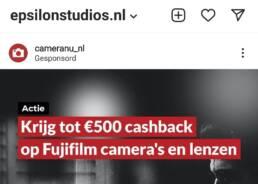 marketing voor fotografen social media